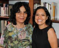 Gloria Mendoza y Paloma Alvarez