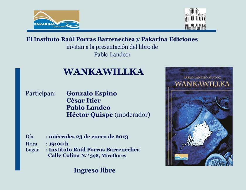 Invitación Wankawillka