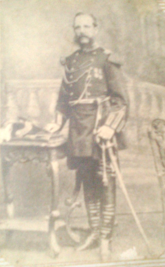 General Carlos Flores Jijon, hijo de Juan Jose Flores pridente de  Ecuador y padre de Juan Jose Flores, autor de Huambar ...