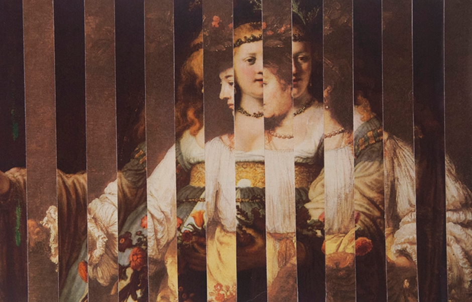 Rembrandts' wives as Flora 2