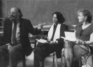 Allen Ginsberg,  Anne Waldmann.  Janinne Pommy Vega