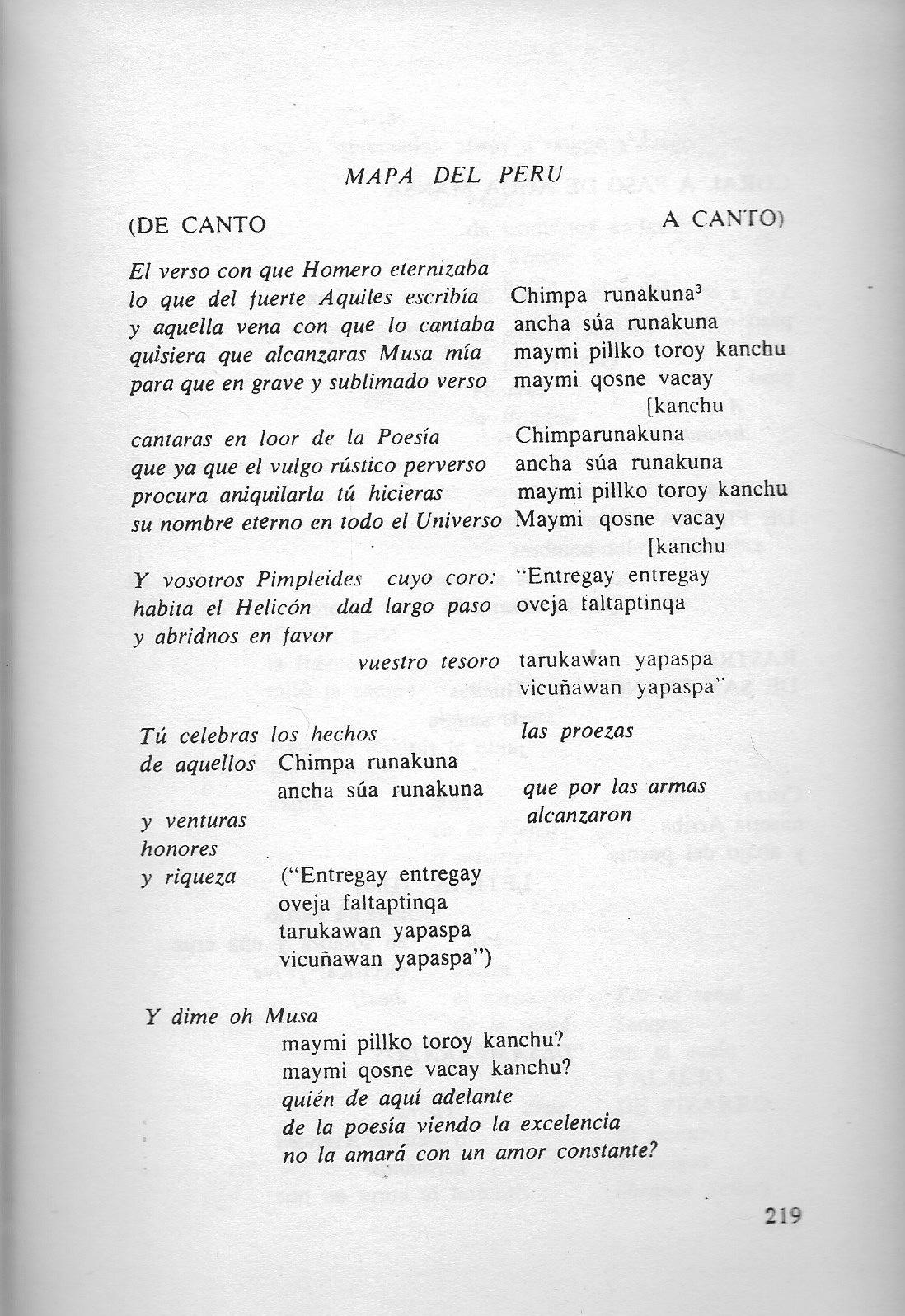 lengua quechua yahoo dating