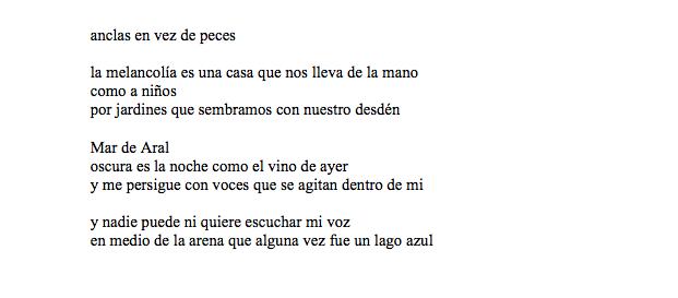 Cinco Poemas Del Agua Omar Aramayo Hawansuyo