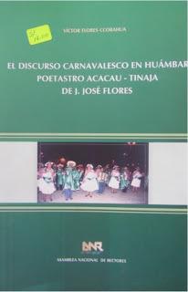el discurso carnavalesco en huambar poetastro acacau - tinaja
